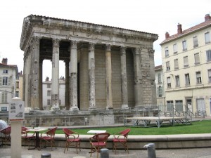 Temple of Augustus and Livia, Vienne France