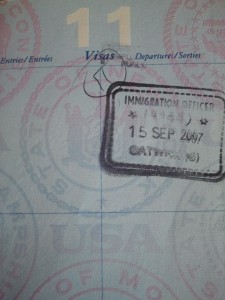 Sometimes it requires more than a ticket and a passport to leave a country.
